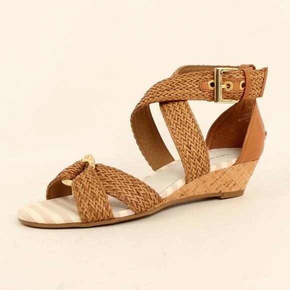 a75e5883c4 Sperry Shoes | Topsider Open Toe Wedge Sandal Alvina | Poshmark